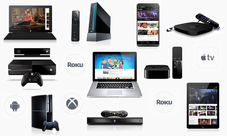 Devices supported by Hulu