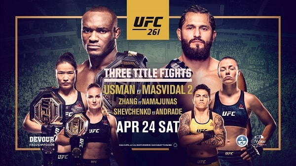 UFC 261 fighters