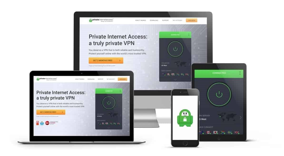 Devices compatible with Private Internet Access