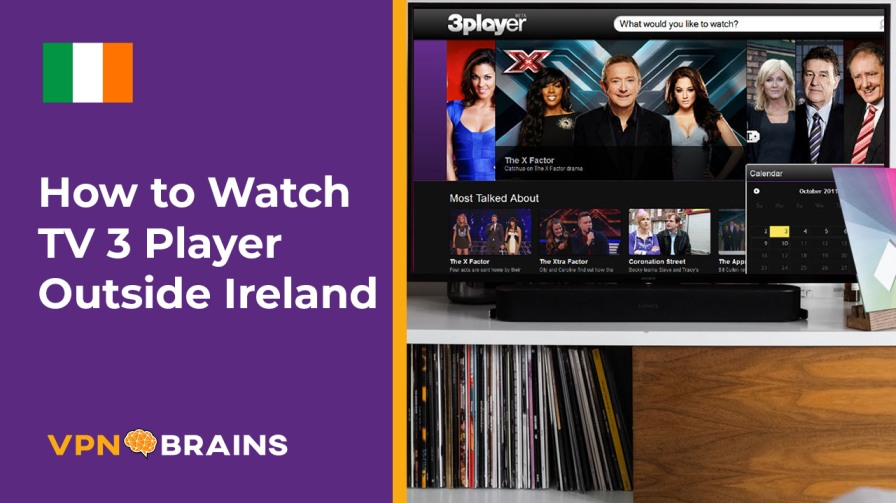 Watch TV 3 Player outside Ireland
