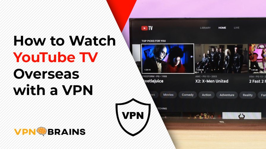 How to watch Youtube TV from Outside US