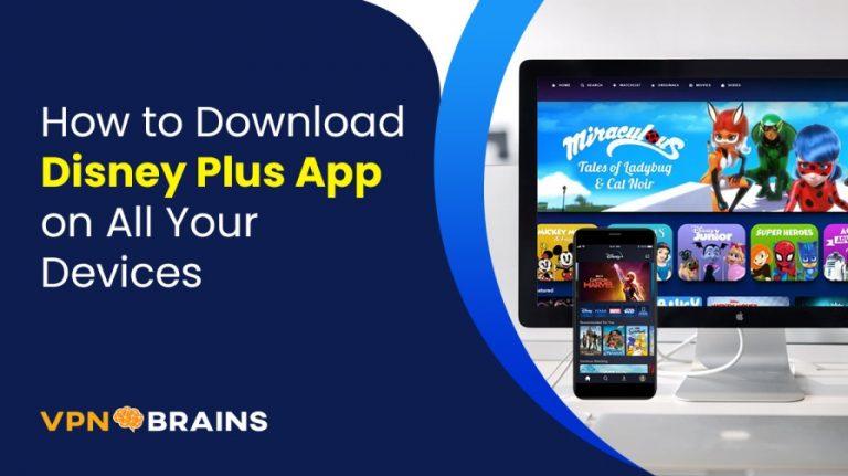 How to download Disney+ app